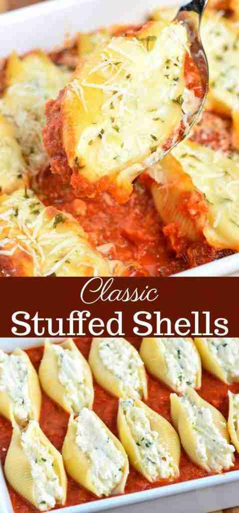 Classic Stuffed Shells – Make The Best Stuffed Shells For The Family