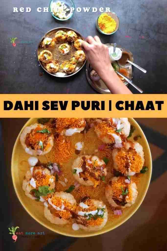 Dahi Sev Puri | Chaat