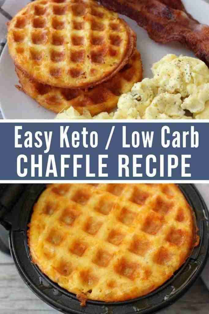 Easy Keto Chaffle Recipe (Highly Popular Recipe)