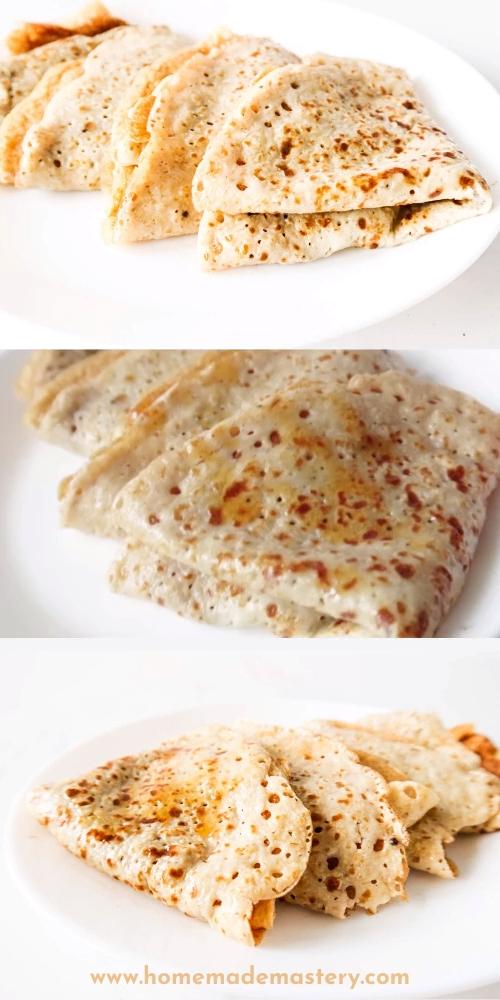 Easy Oatmeal Crepes