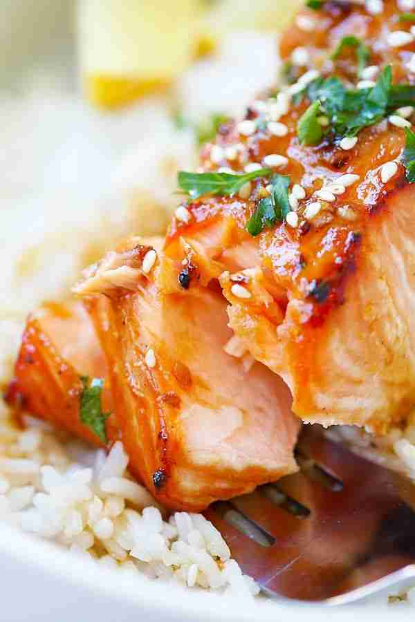 Ginger Garlic Baked Salmon (The Best Salmon Marinade) – Rasa Malaysia