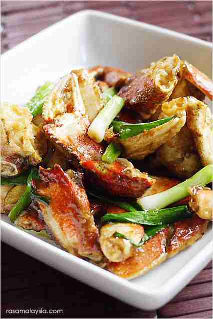 Ginger and Scallion Crab (Best Chinese Recipe) – Rasa Malaysia