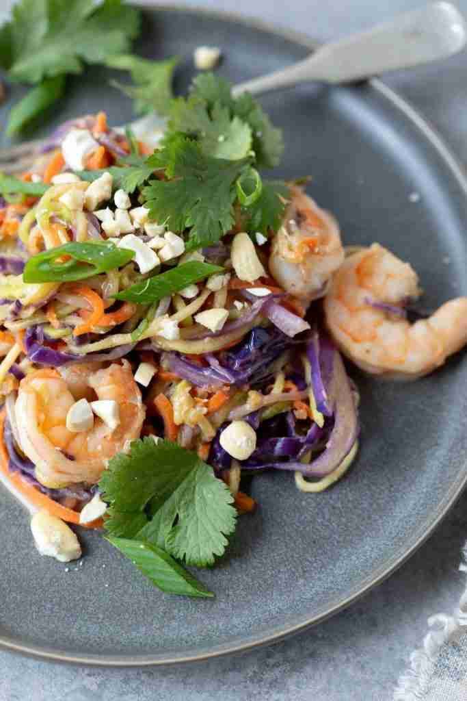 Gluten Free Pad Thai (Paleo, Whole30, Quick and Easy)