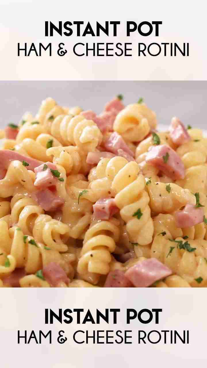 Ham & Cheese Instant Pot Pasta – The Salty Marshmallow