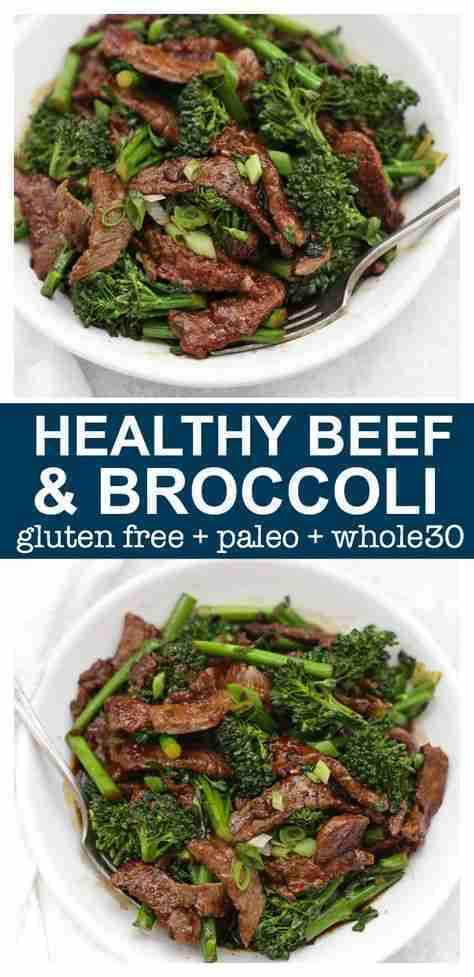 Healthy Beef and Broccoli (Paleo + Whole30 + Gluten-Free)