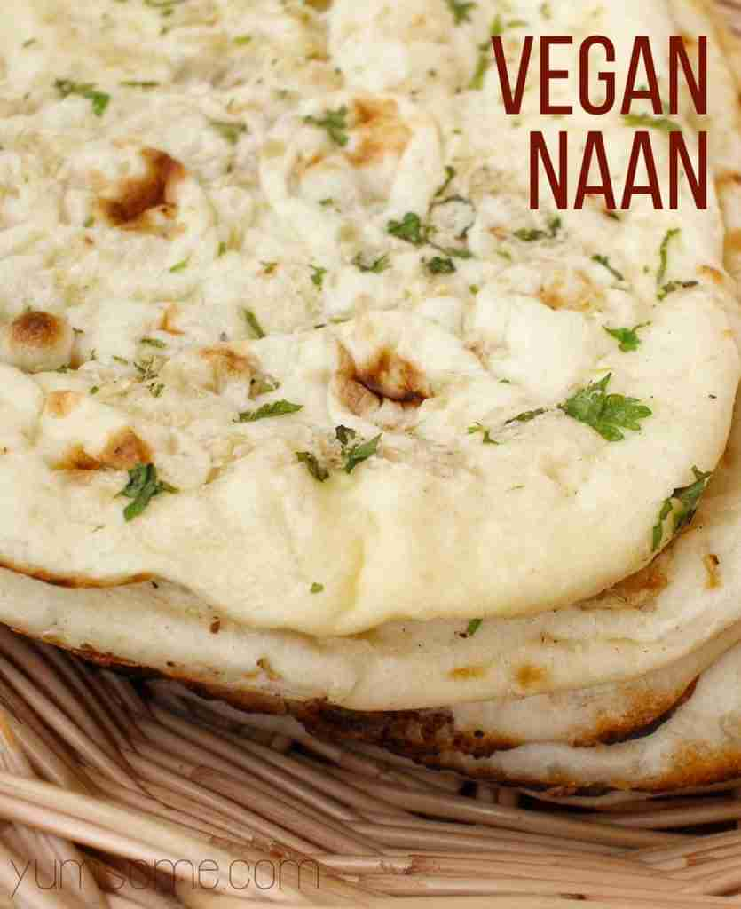 How To Make Vegan Naan   yumsome