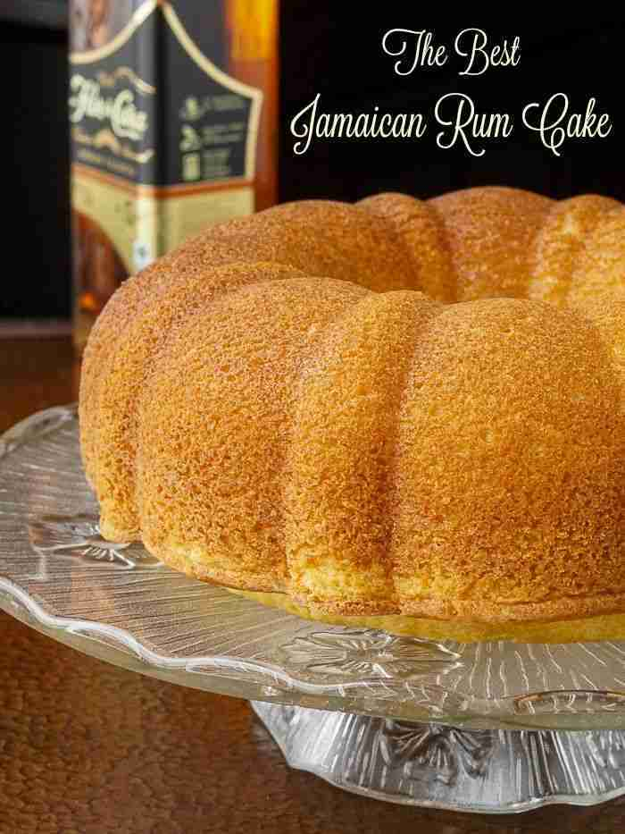Jamaican Rum Cake. The best recipe I've tried in 30 years of baking!