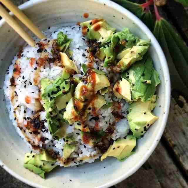 "Jessica Sodenkamp on Instagram: ""Sushi bowl Sunday 💚"""
