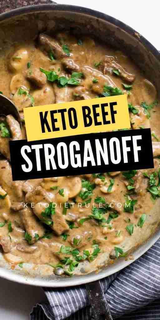 Keto Beef Stroganoff Recipe With Sour Cream – Keto Diet Rule