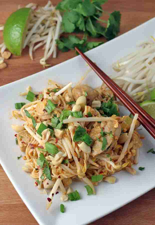 Keto Chicken Pad Thai Recipe [Quick & Easy, Perfect For Weeknights]