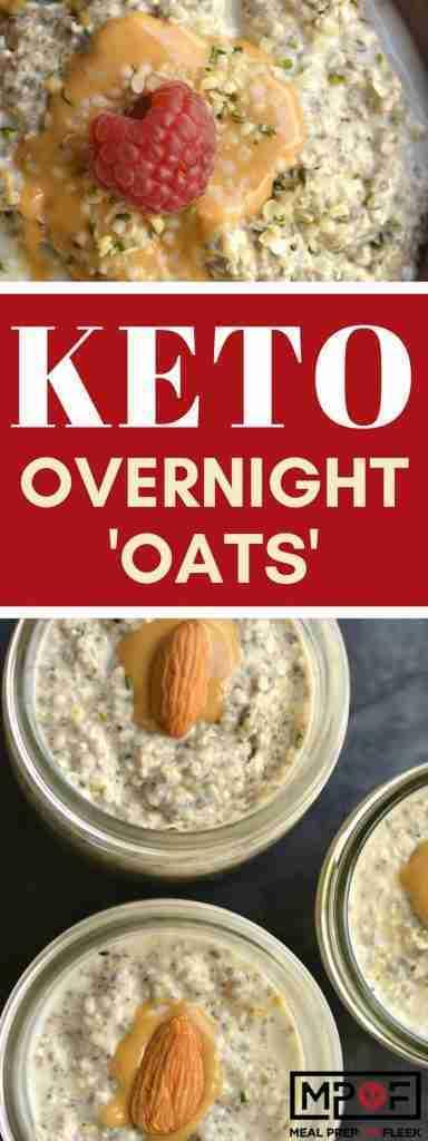 Keto Overnight 'Oats' – Meal Prep on Fleek™