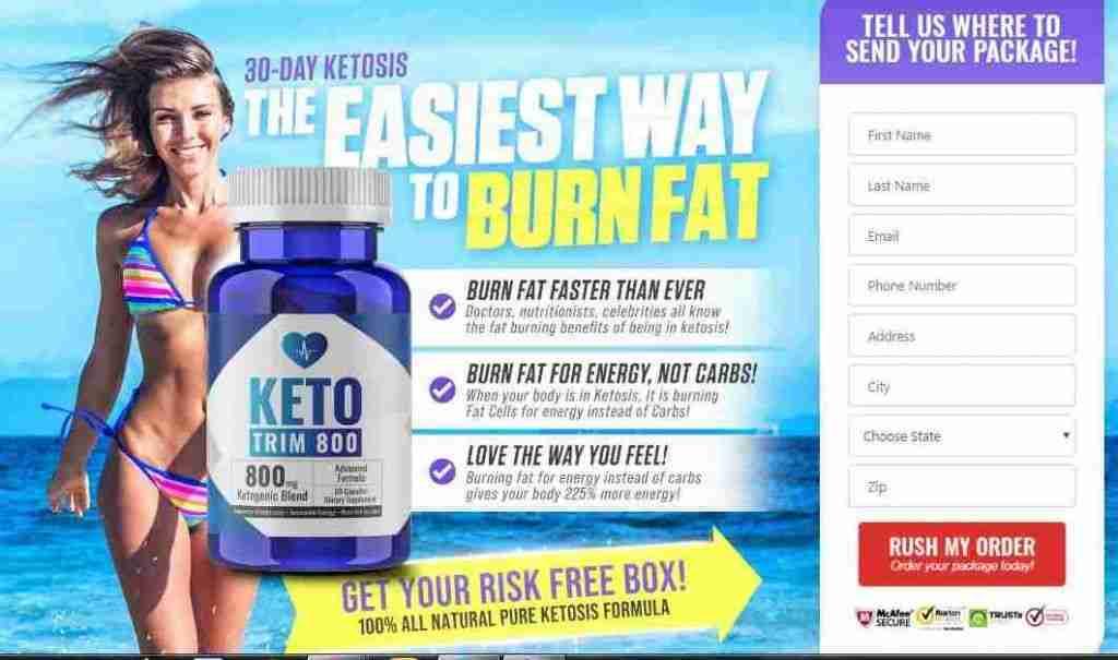 Keto Trim 800 Review : Keto Trim Pill Advanced Weight Loss Formula
