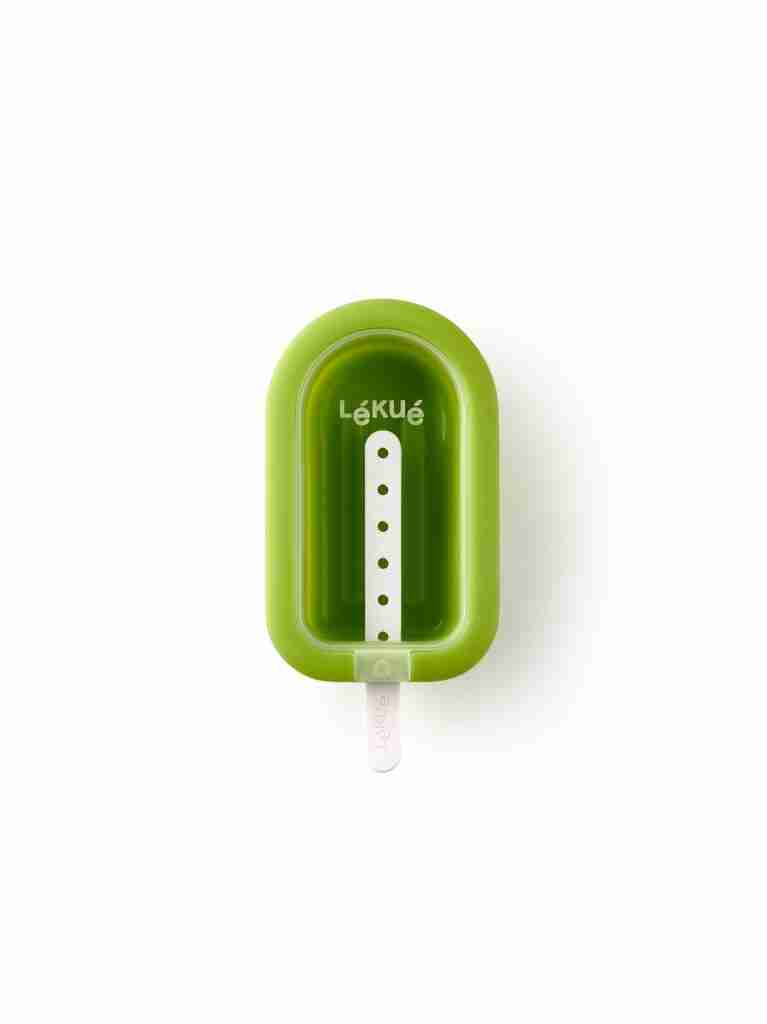 Large Stackable Popsicle Mold – Green