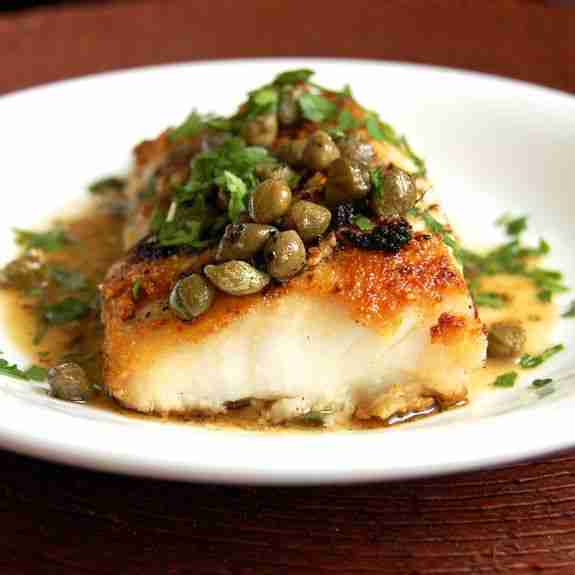 Simple Cod Piccata ( A Tasty and Easy Cod Recipe)