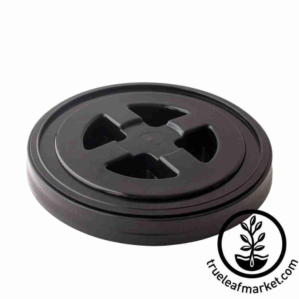 Smart Seal 5 Gallon Bucket Lids – Singles – 1 Pack / Black