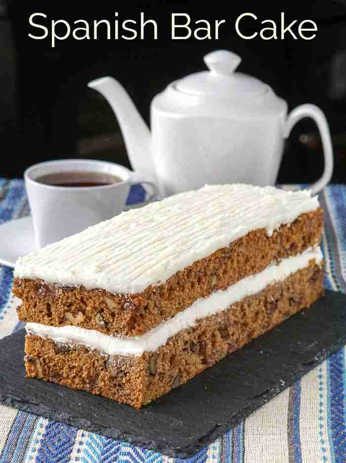Spanish Bar Cake. A real old fashioned market bakery fave!  Rock Recipes
