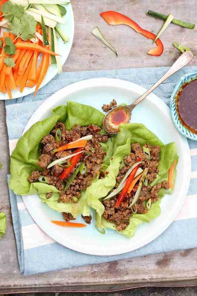 Thai Beef Lettuce Wraps – The Fountain Avenue Kitchen
