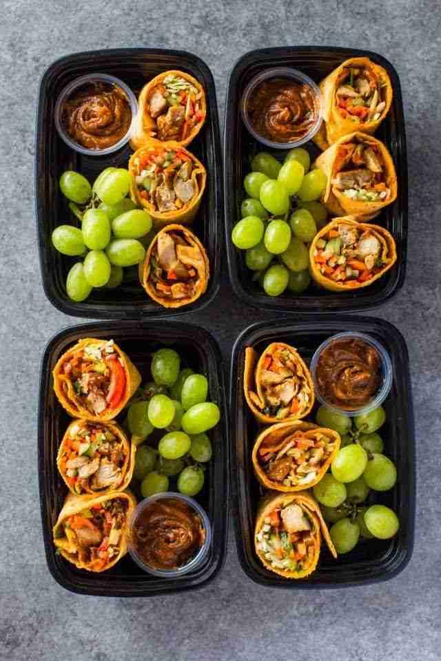 Thai Chicken Wraps Bistro Boxes Meal-Prep Recipe   Yummly