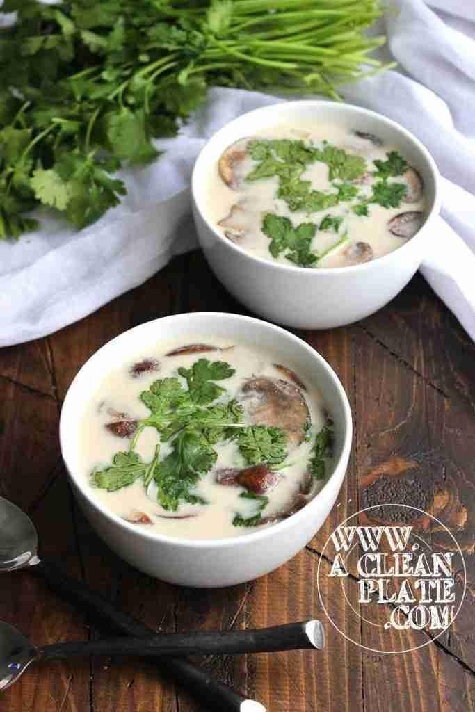 Thai Coconut Soup | A Clean Plate
