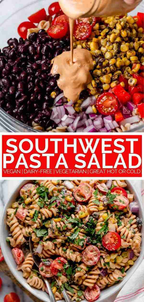Vegan Southwest Pasta Salad