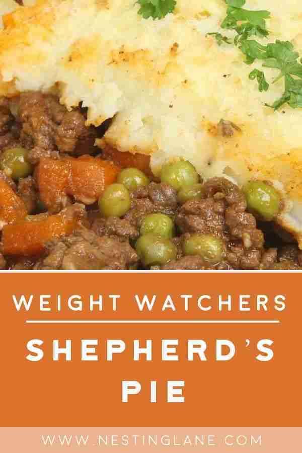 Weight Watchers Shepherd's Pie