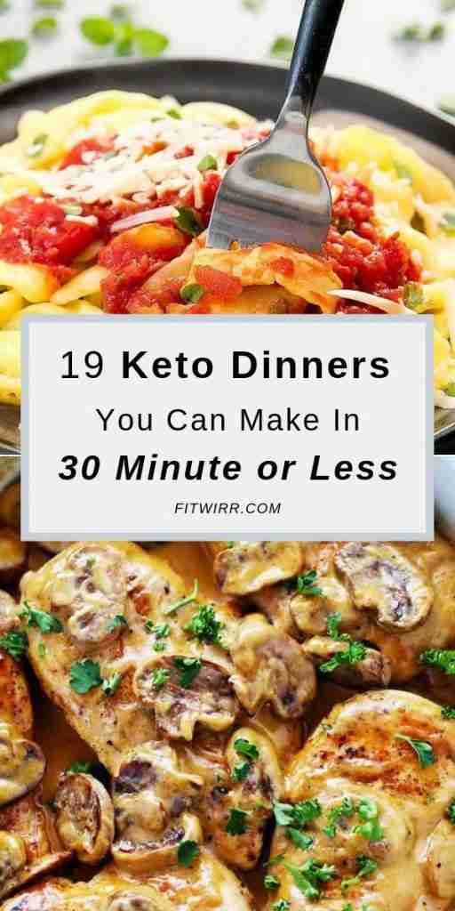 19 Irresistible Keto Dinner Recipes to Make Tonight – Fitwirr