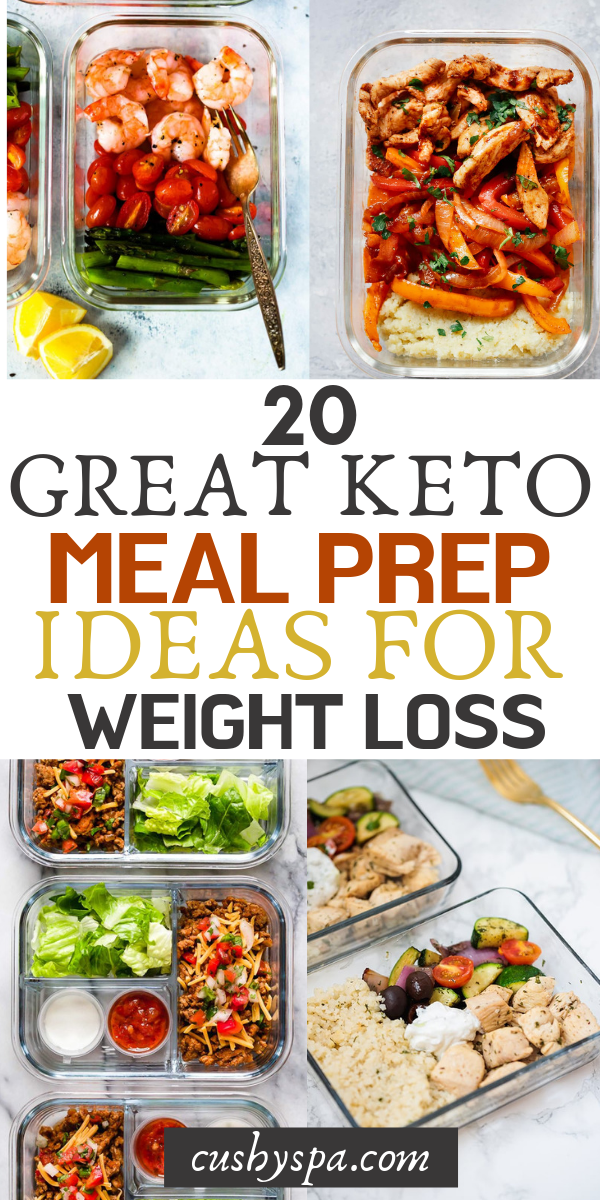 20 Great Keto Meal Prep Ideas for Weight Loss