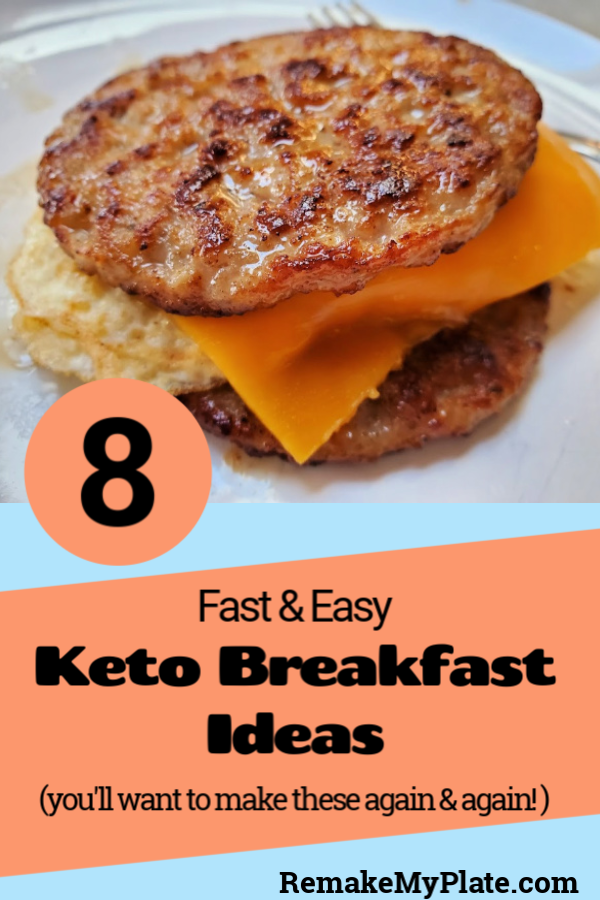 8 Fast And Easy Keto Breakfast Ideas To Save You Time!