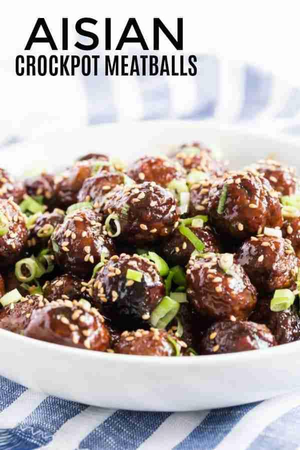 Asian Crockpot Meatballs – Tornadough Alli