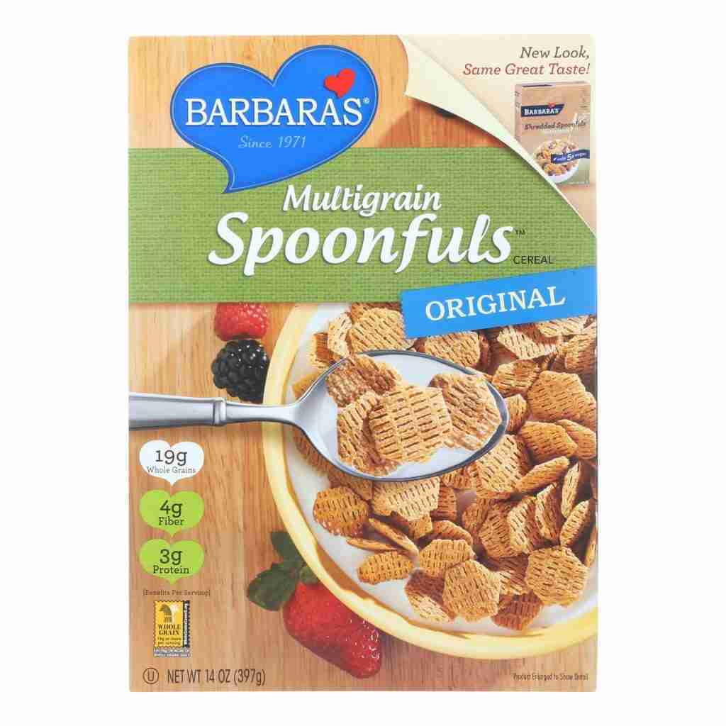 Barbara's Bakery – Spoonfuls Cereal – Multigrain – Case Of 12 – 14 Oz.