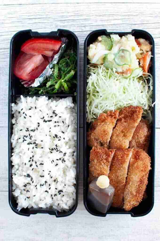 Bento Box – Tonkatsu Bento | RecipeTin Japan