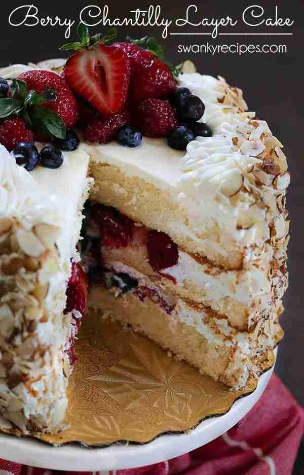 Berry Chantilly Layer Cake