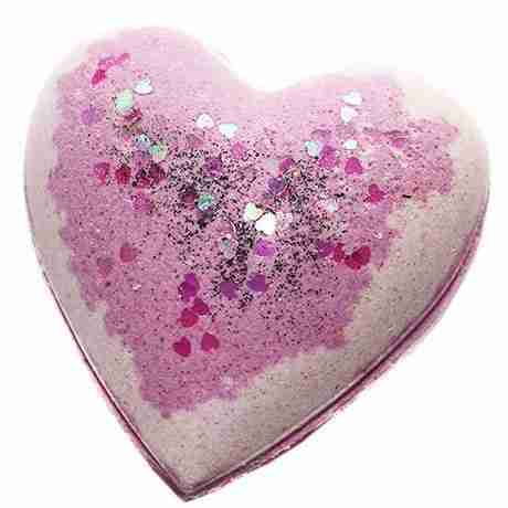 Blackened Amethyst Heart Bath Bomb