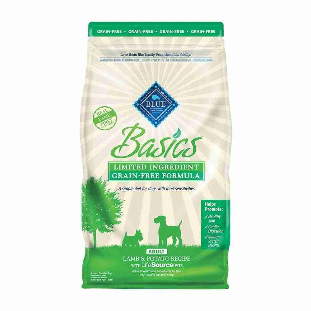 Blue Buffalo® Basics® Limited Ingredient Diet Grain Free Lamb & Potato Recipe Adult Dog Food 4 Lbs