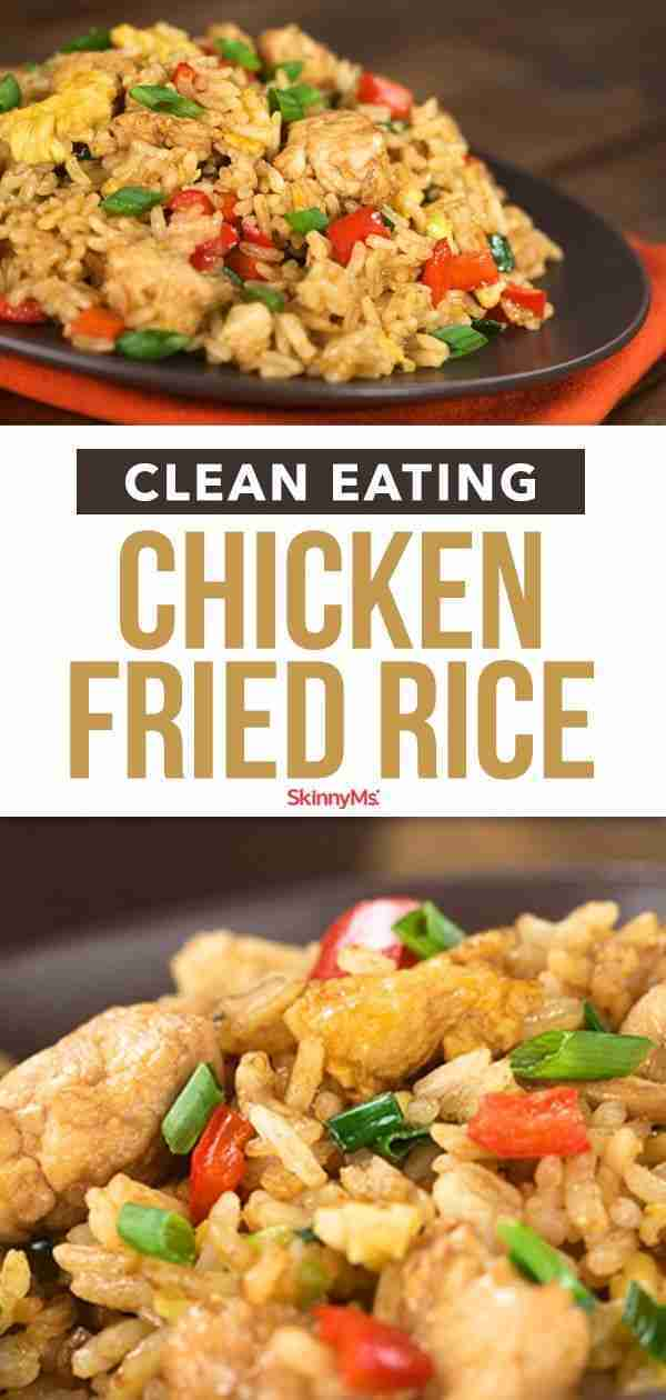 Clean Eating Chicken Fried Rice | Healthy Take-Out-Inspired Recipes