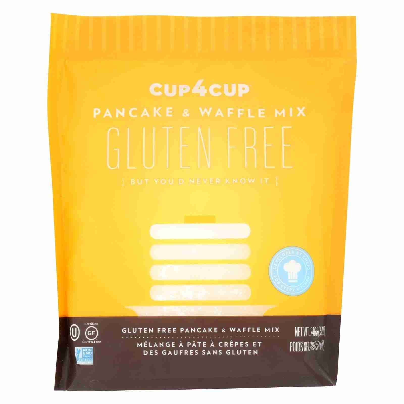 Cup 4 Cup – Pancake And Waffle Mix – Case Of 6 – 8.7 Oz.