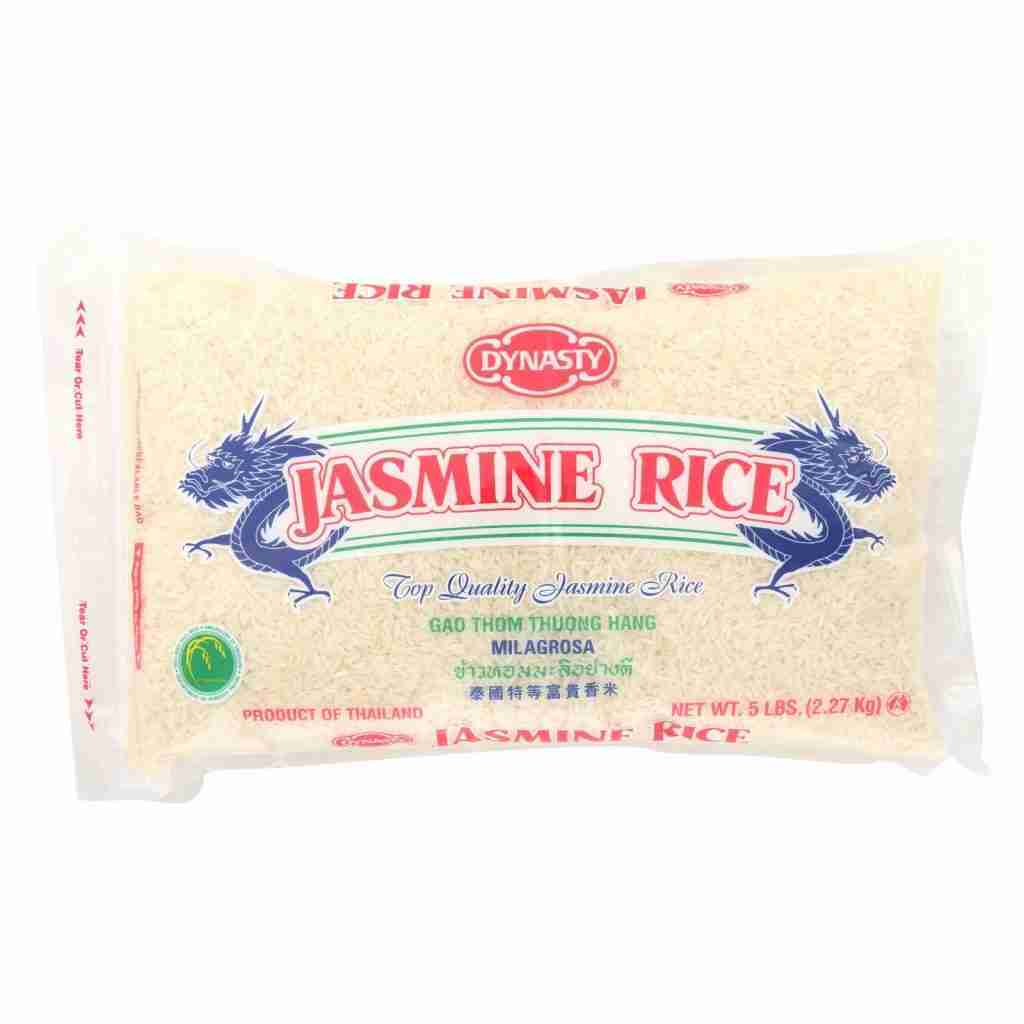 Dynasty Rice – Jasmine – Case Of 6 – 5 Lb.