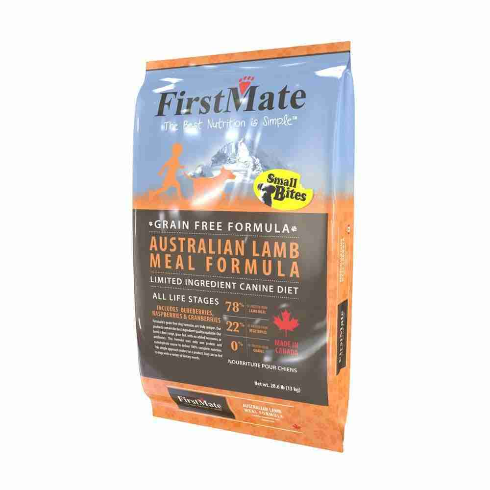 FirstMate™ Grain Free Australian Lamb Meal Formula Small Bites Dog Food 5 Lbs