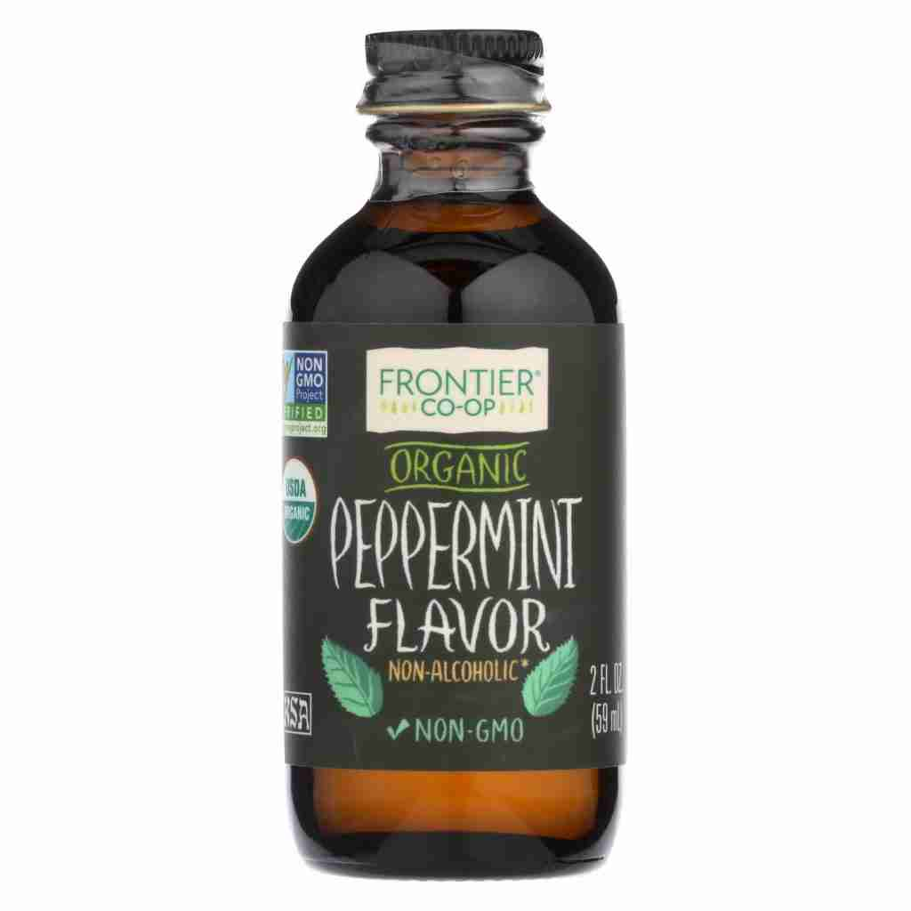 Frontier Herb Peppermint Flavor – Organic – 2 Oz