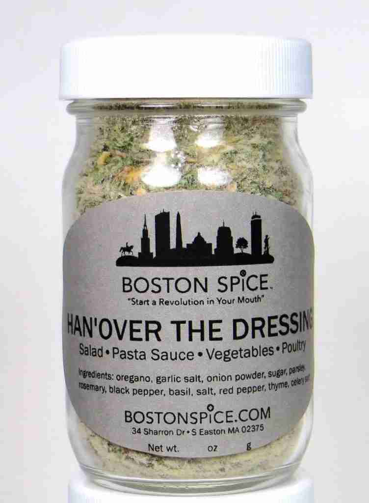 Han'Over (Hanover) The Dressing – Italian Seasoning – Approx 1/2 cup in a wide-mouth jar
