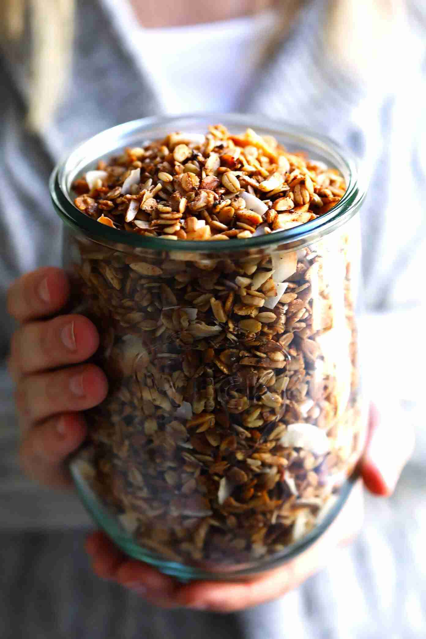 Healthy Granola | Gimme Some Oven
