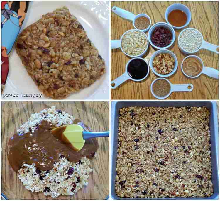 Homemade Clif Bars (vegan & gluten-free)