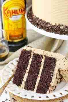 Kahlua Coffee Chocolate Layer Cake | Best Chocolate Layer Cake Recipe