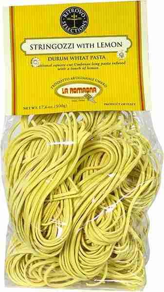 La Romagna Lemon Stringozzi Pasta