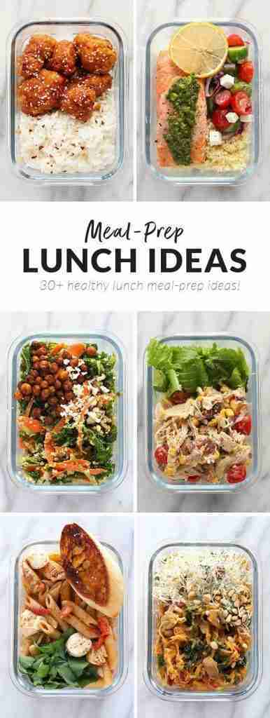 Meal Prep Lunch Ideas (Healthy!)