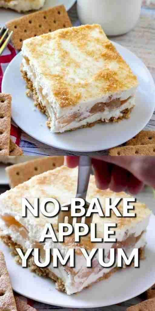 NO-BAKE APPLE YUM YUM