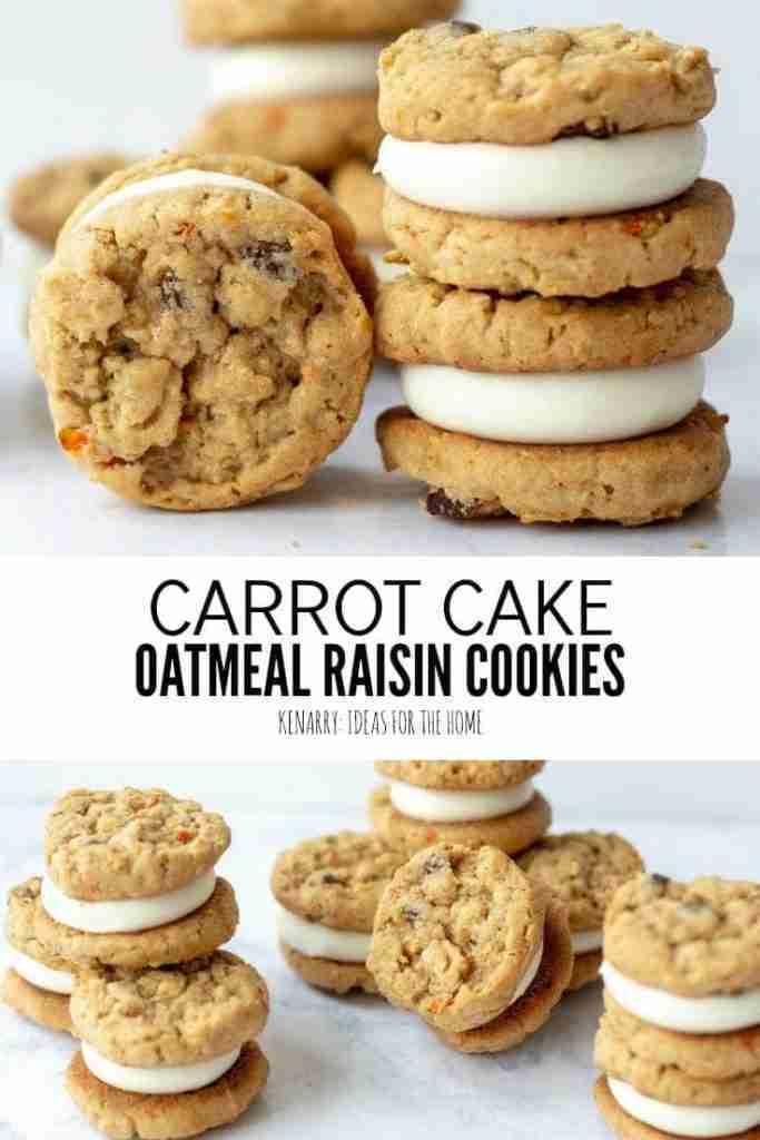 Oatmeal Raisin Carrot Cookies: Easy Spring Dessert