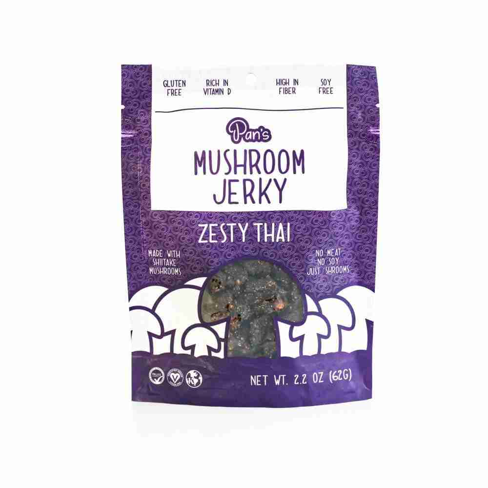 Pan's Mushroom Jerkey – Zesty Thai