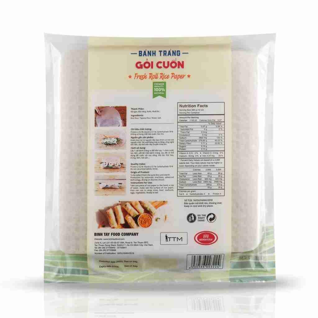 Premium Rice Paper Square