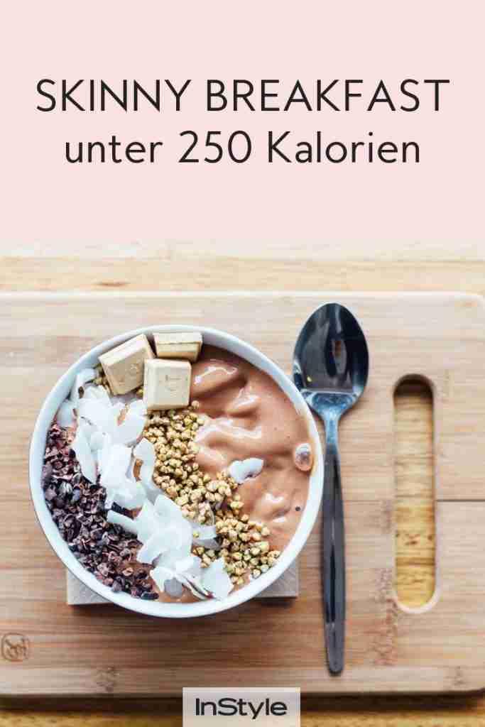 Skinny Breakfast: Abnehmen mit diesen Frühstücksrezepten unter 250 Kalorien